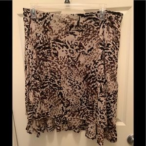 💥 Animal Print Skirt - Size XL